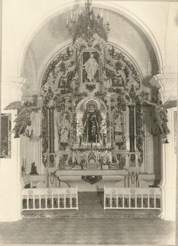 Virgen Victoria Capilla
