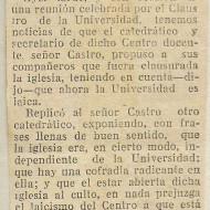 Cierre universidad 1932