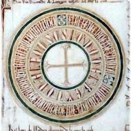 Pergamino con el Privilegio Rodado de Alfonso X, por el que se concede a Sevilla un Estudio General de latín y árabe en el año 1254. Podría haber sido el embrión de la Universidad de Sevilla; en la práctica se quedó en un Estudio Particular. Estos documentos son los más solemnes emitidos por la cancillería real castellana.