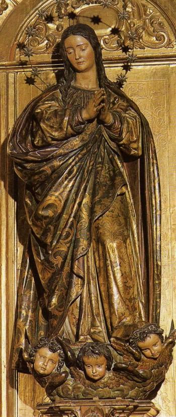 "Virgen ""Cieguecita"" de Martínez Montañés (Catedral de Sevilla)"