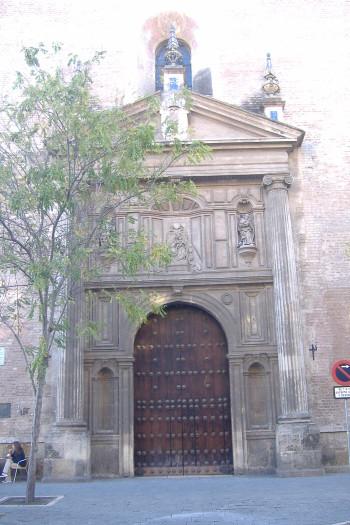 Iglesia de la Anunciación (sede universitaria tras la expulsión de los Jesuitas que tenían en este lugar su Casa Profesa)