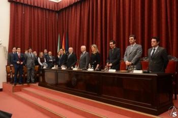 Mesa presidencial del Paraninfo