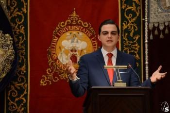 D. Alejandro Mañes en su disertación