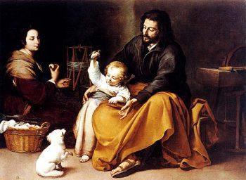 La Sagrada Familia del pajarito (B.E. Murillo)